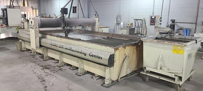Used 2010 OMAX 80X WATERJET CUTTING SYSTEM (#9880)