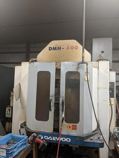 Used 2001 Daewoo DMH-400 CNC Horizontal Machining Center