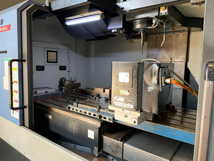 2014 Doosan DNM 650 IIVertical Machining Center with Rotary Table
