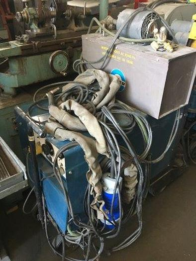 Used MILLER, No. DIALARC HF, 250 AMPS, TIG TORCH, CHILLER, [4772]