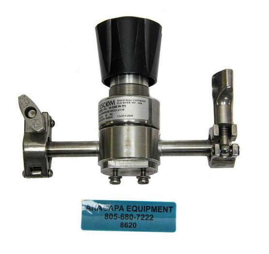Used Tescom 44-2360-98-551 Back Pressure Regulator (8620)W