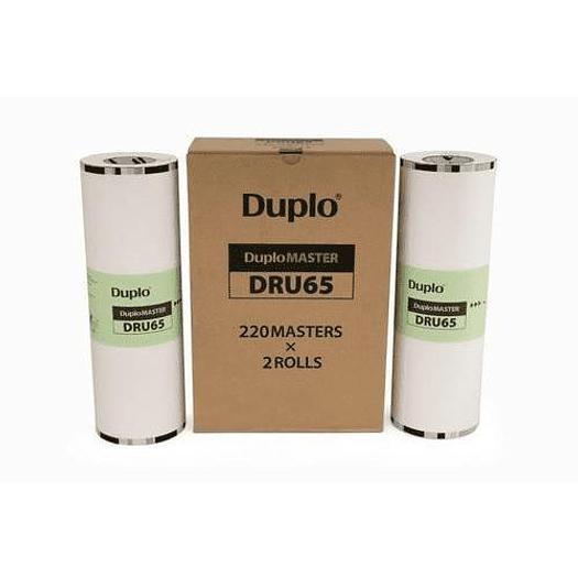 DUPLO Duprinter DRU-85 (A3) Master Rolls Pack of 10 x 220