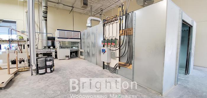 Used 2018 Ayotte Techno-Gaz Oven Dryer System