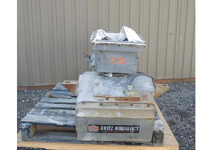 """USED VIBRATORY FEEDER, 10"""" WIDE X 105"""" LONG, CARBON STEEL"""