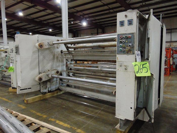"Used Gloucester 102"" Winder; model 125; SN 33020-01"