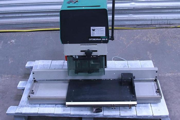 Used Nagel Citoborma 280 B Paper Drill