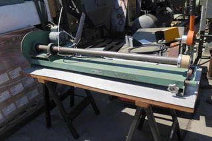 "Used 60"" VOORWOOD MANUAL CORE CUTTER"