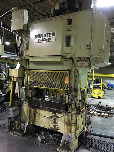 Used 100 TON MINSTER HIGH SPEED PRESS