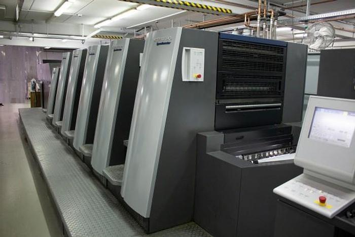 2013 HEIDELBERG SM-XL-75-5-L