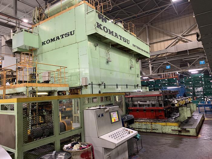 1500 ton Komatsu Stamping Press