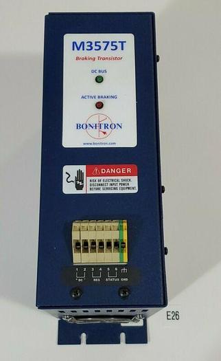 Used *PREOWNED* Bonitron Model 3575T Braking Transistor M3575T-H75 460V 75A +Warranty
