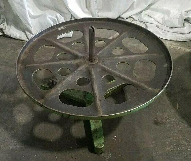 """Used 24"""" Stock Reel Metal Material Strip Payoff Stamping"""