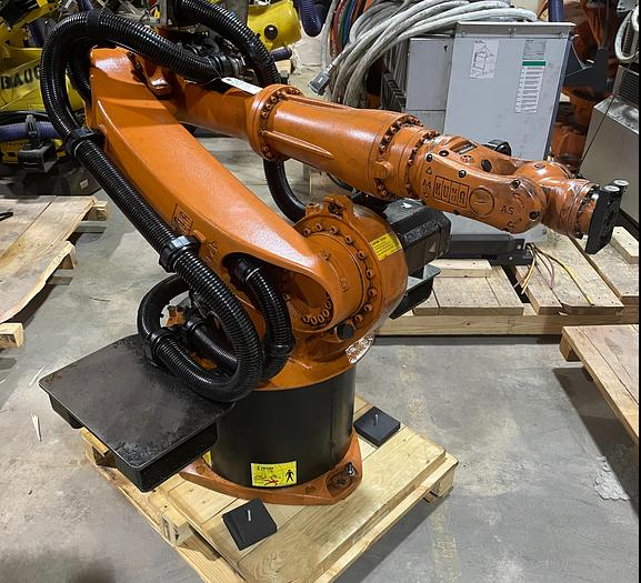 Used KUKA KR 16 L6-2 6 AXIS ROBOT 6KG X 1911MM H-REACH WITH KRC4 CONTROLLER