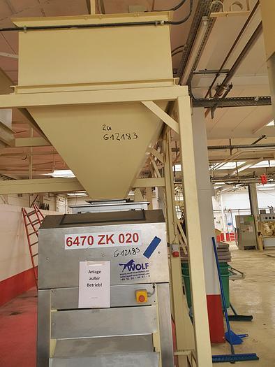 Gebraucht Mandelstiftelmaschine PEHA Type H1-04-600 Bj. 1992 600 mm Arbeitsbreite, Leistung ca. 350 kg/h