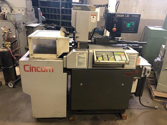 Used 1987 Citizen Cincom L16  With Barfeed