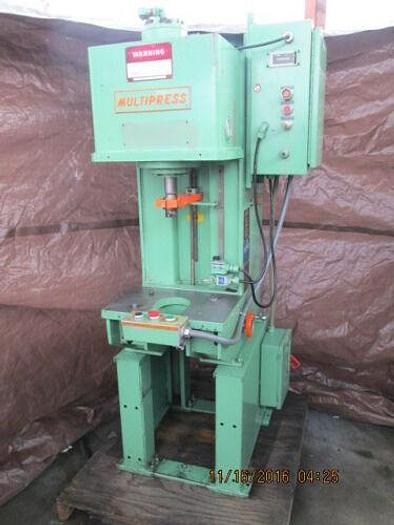Abex-Denison Multipress Model WR023L Hydraulic C- Frame Press