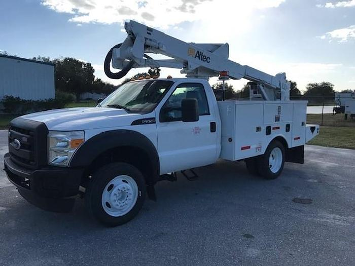 Used 2011 Ford F550 Altec AT37G 42ft Bucket Truck - C23116