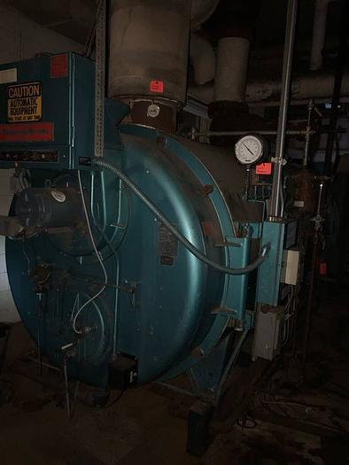 1984 Cleaver Brooks 150 HP 150 PSI Steam Boiler CB-700-150 CB 700-150