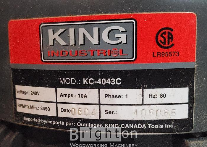 2006 King KC4043C dust collector