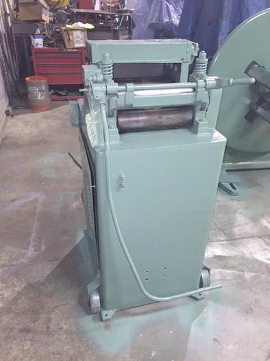 "Used 12"" x .105"", LITTELL, No. 312-7PDL MOTORIZED STRAIGHTENER"