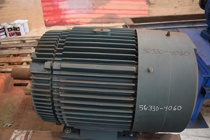 Used Reliance duty master 60hp motor, 1175rpm, frame 405T