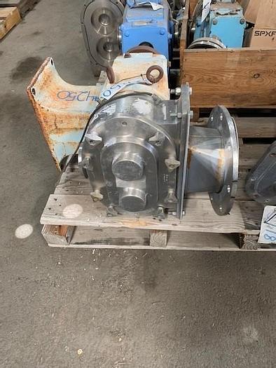 Used Waukesha-Cherry-Burrell Model 224 Positive Displacement Pump