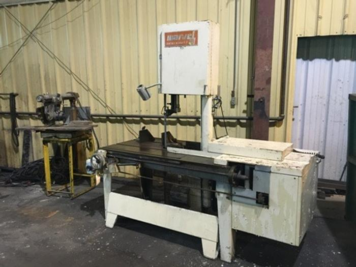"18"" x 20"" Marvel 8 Mark I Vertical Tilting Band Saw, 1987"