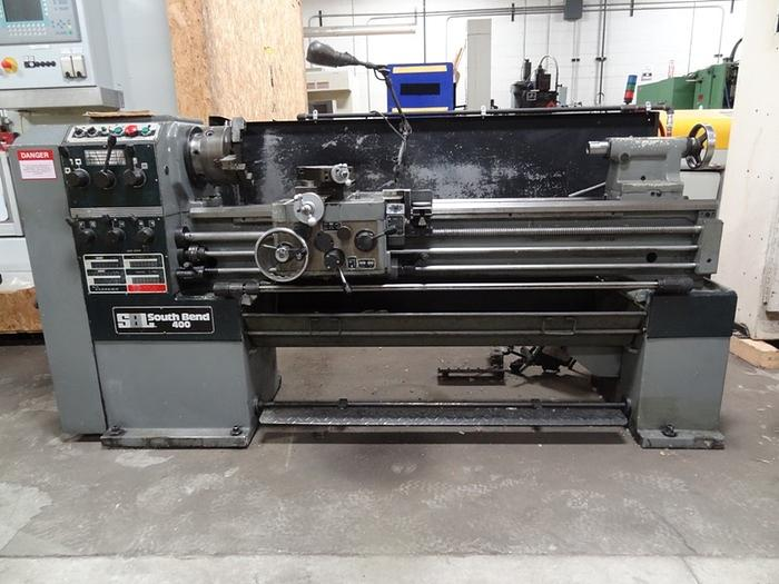 "SOUTHBEND MODEL 16"" X 60"" MODEL 400 GEARED HEAD ENGING LATHE"
