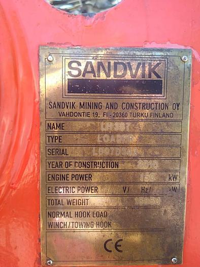 2010 SANDVIK LH 307