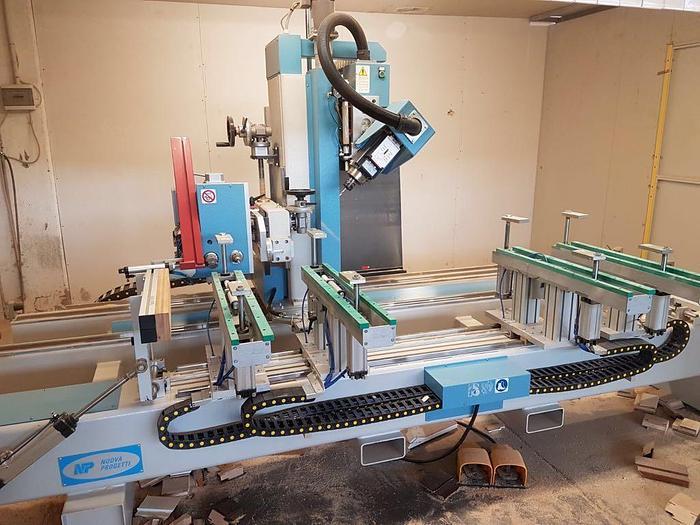 MCL011 2010 Nuova Progetti NP4 Centro di lavoro