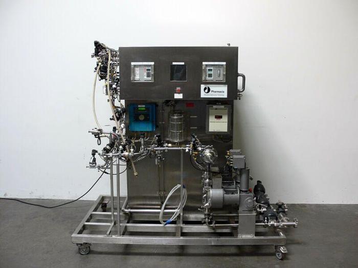 Used Pharmacia Biotech X-360 Chromatography CIT Skid w/ EP 52 Dosing Pump