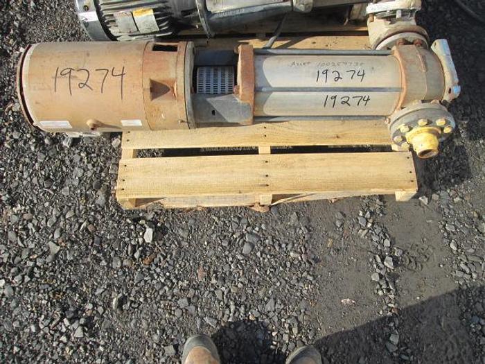 Used Boiler Makeup Water Pump; 15HP