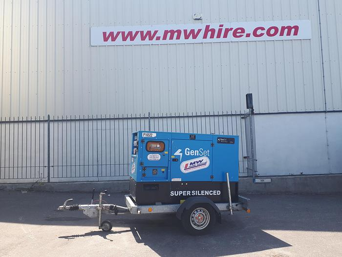 Used Genset MG 50 SS-Y - Road Tow - Rental Spec MG 50 SS-Y