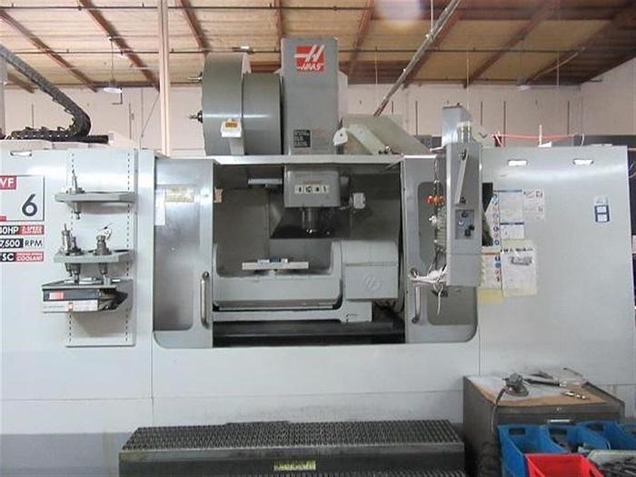 Used 2008 Haas VF6/50TR
