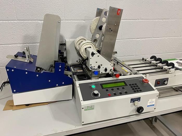 Used Neopost TA-25 Side to Side Tabber with Friction Feeder