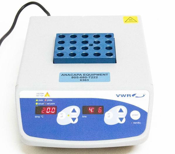 Used VWR 12621-084 Digital Heatblock I 120°C Max 120V (6363)
