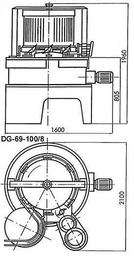 Używane Dozownica do cieczy gęstych DG-69-100/8