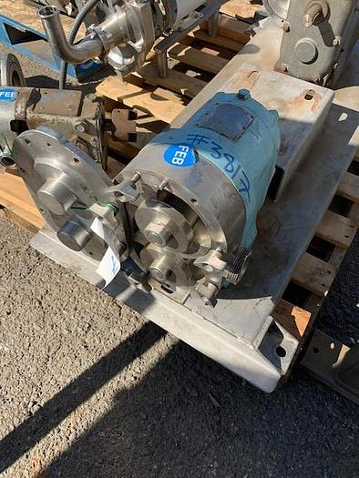 Used Waukesha Model 100 Positive Displacement Pump