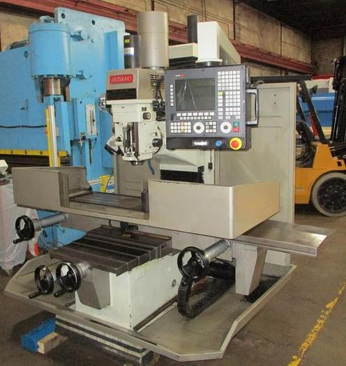 "Used 16"" X 62"", MAXIMART, MX-B51V CNC, 2012, CNC VERTICAL MILLING MACHINE"