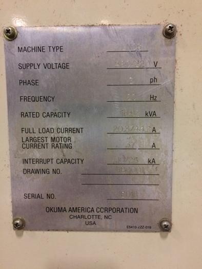 OKUMA Cadet Lathe LNC-8C OSP-700L control