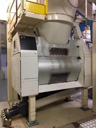 Used Buhler SZAE 2 roll pre-refiner