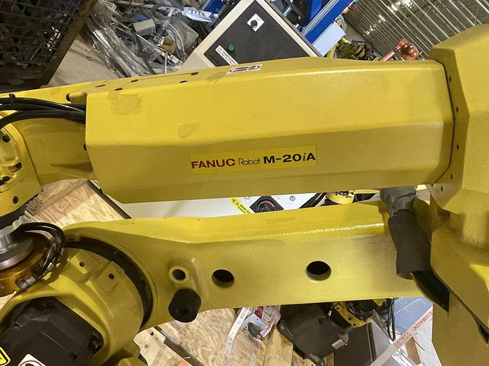 Used FANUC M20iA CNC 6 AXIS ROBOT WITH R30iA CONTROLLER