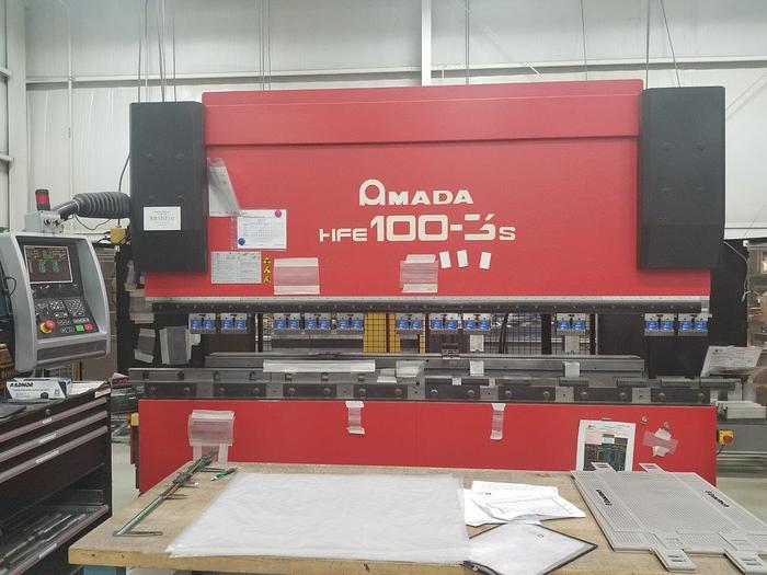2005 110 Ton Amada HFE 100-3S CNC Press Brake