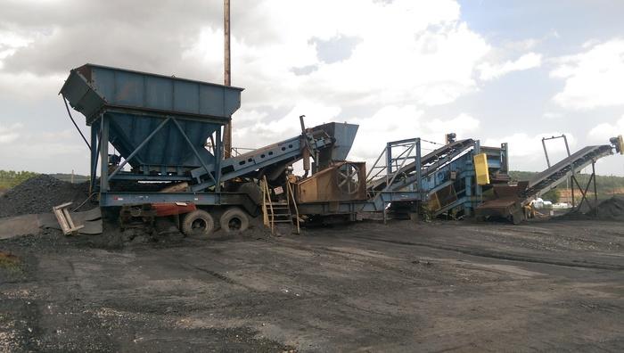 HARTMAN FABCO Portable Coal Crushing Plant