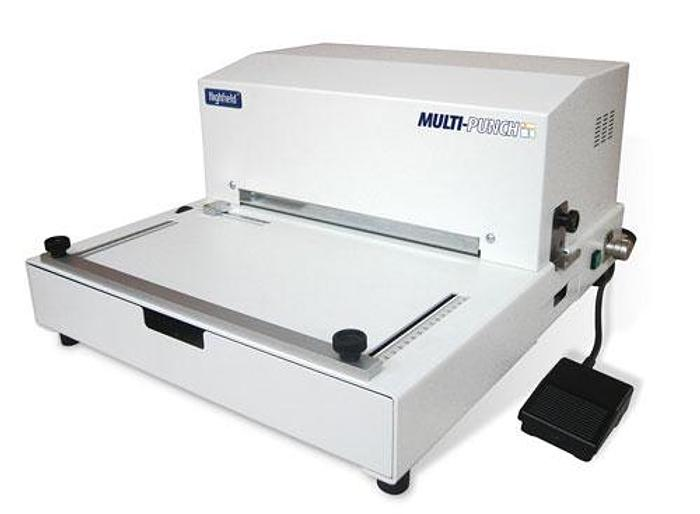 Multi-Punch Electronic Desk-Top Punch