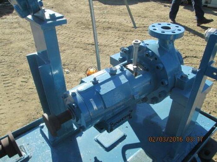 CLYDE / UNION 25 H.P. OIL / GAS / PETROCHEMICAL PUMP