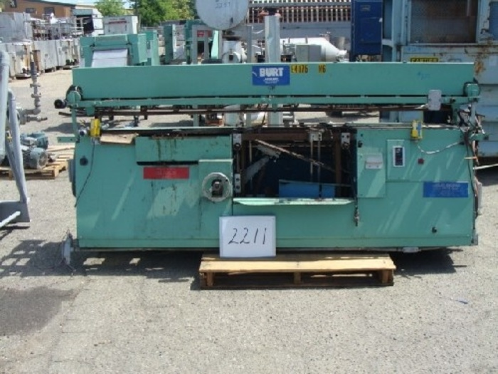 Burt Model 704 Roll Through Labeler,
