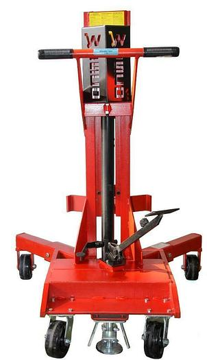 Used Wesco DM-1100 Manual Hydraulic Ergonomic Drum Lifter With Gator Grip (8105)W