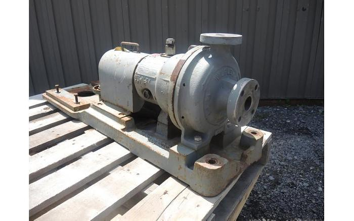 """USED CENTRIFUGAL PUMP, 1.5"""" X 1"""" INLET & OUTLET, 316 STAINLESS STEEL"""