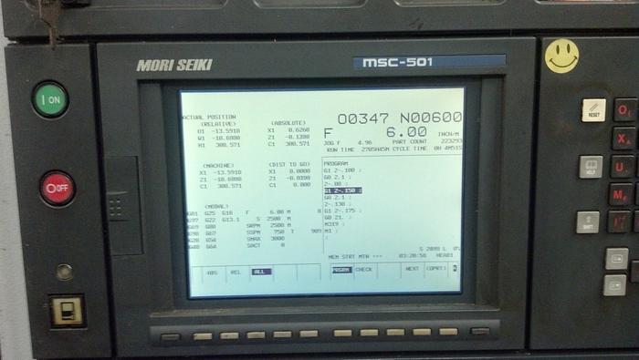 2002 MORI SEIKI ZL-200SMC LIVE TOOLING